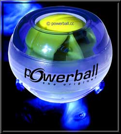 powerball blue light nanosecond