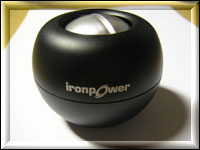 Ironpower  powerball black
