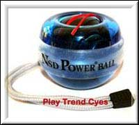 nsd powerball techno € 38,- inclusief gratis wrist strap en starting cord